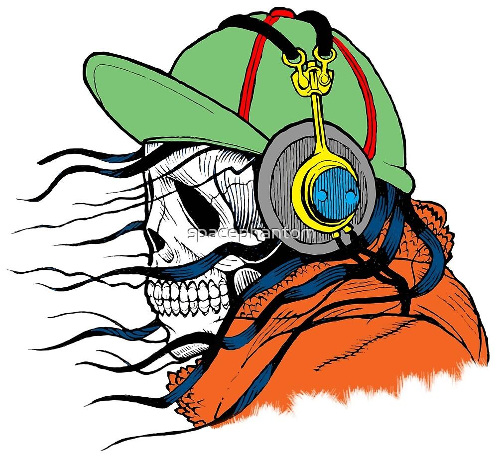 Cool Skull Dude by spacephantom