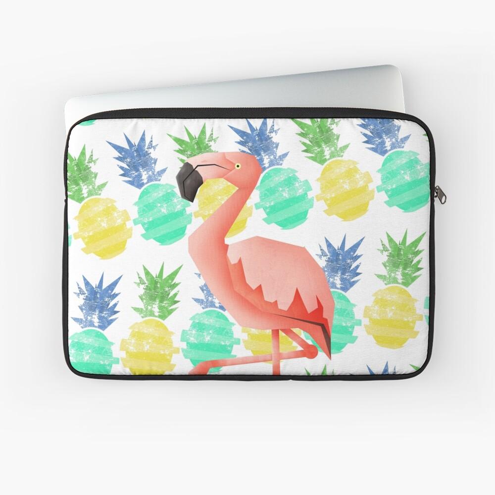 Summer flamingo Laptop Sleeve