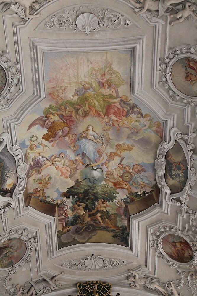 Church paintings by rachariedel