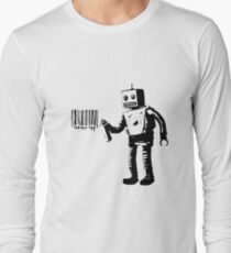 Banksy Robot Long Sleeve T-Shirt