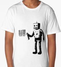 Banksy Robot Long T-Shirt