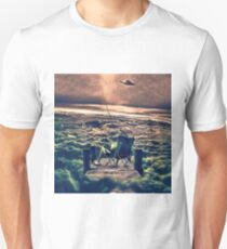 Fishing Above the Clouds Unisex T-Shirt
