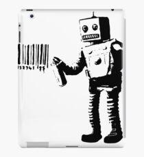Banksy Robot iPad Case/Skin