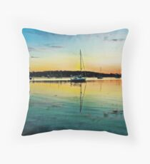Sailing Ships Throw Pillow