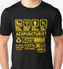 ACUPUNCTURIST WILL TRAVEL Unisex T-Shirt