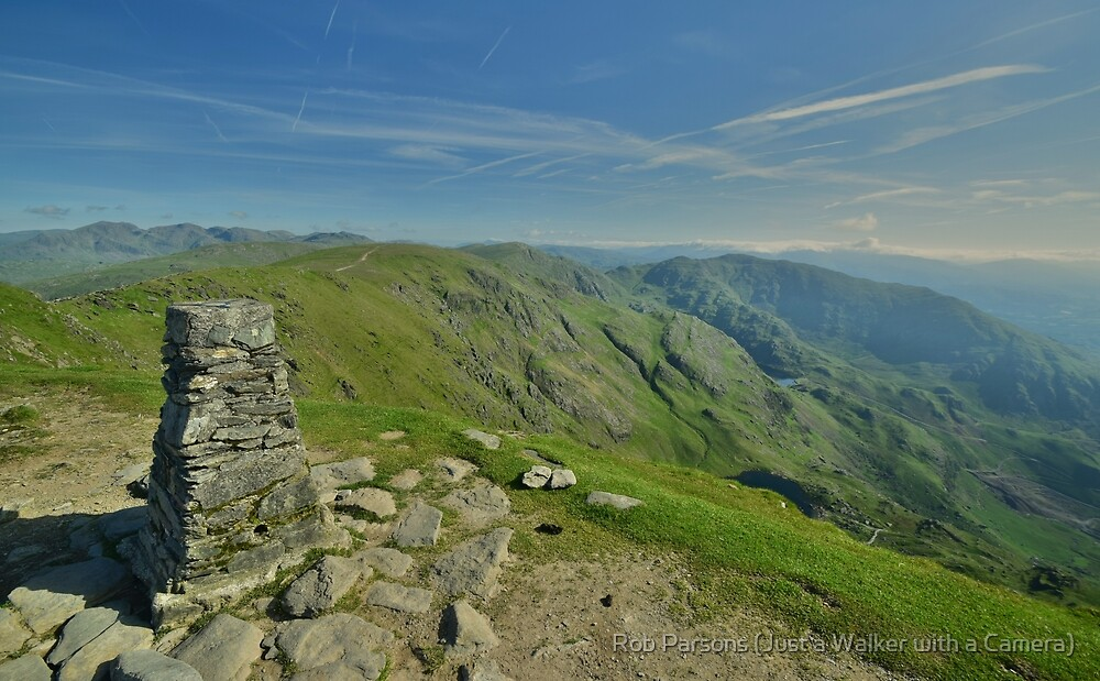 The Lake District: The Summit of The Old Man of Coniston by Rob Parsons (Just a Walker with a Camera)