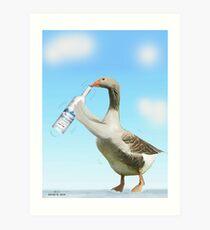Grey Goose Art Print