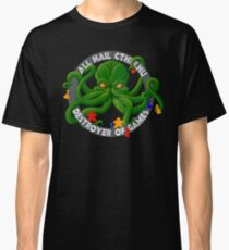 Cthulhu - Destroyer of Games Classic T-Shirt
