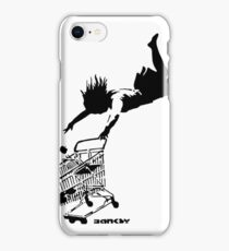 Banksy - Shop 'til you drop iPhone Case/Skin