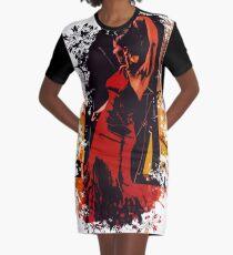 Flamenco  Graphic T-Shirt Dress