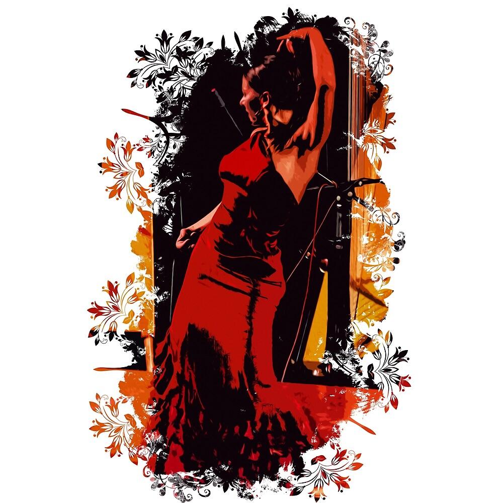 Flamenco  by Andrea Mazzocchetti