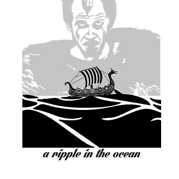 A ripple in the ocean by Timmyb0y
