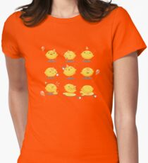 Party Lemon Womens Fitted T-Shirt