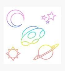 Rainbow Space Photographic Print