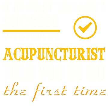 ACUPUNCTURIST TOLD YOU TO DO by Avarwilima