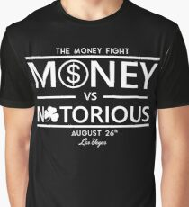 Conor Mcgregor vs. Floyd Money Mayweather Graphic T-Shirt