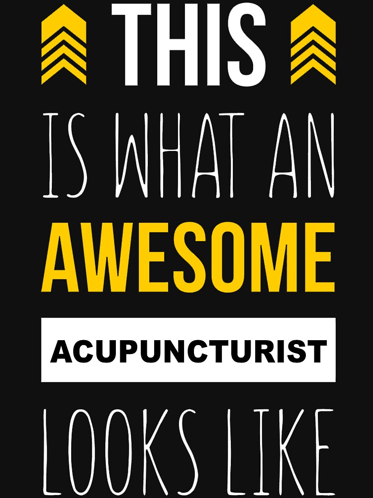 ACUPUNCTURIST AWESOME LOOK LIKE by Avarwilima