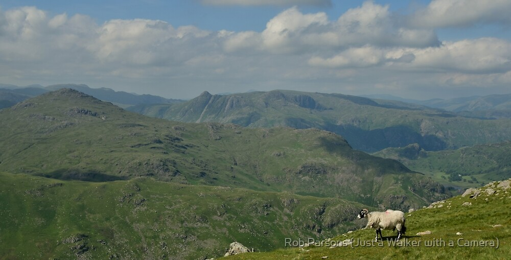 The Lake District: The Langdales from Wetherlam by Rob Parsons (Just a Walker with a Camera)