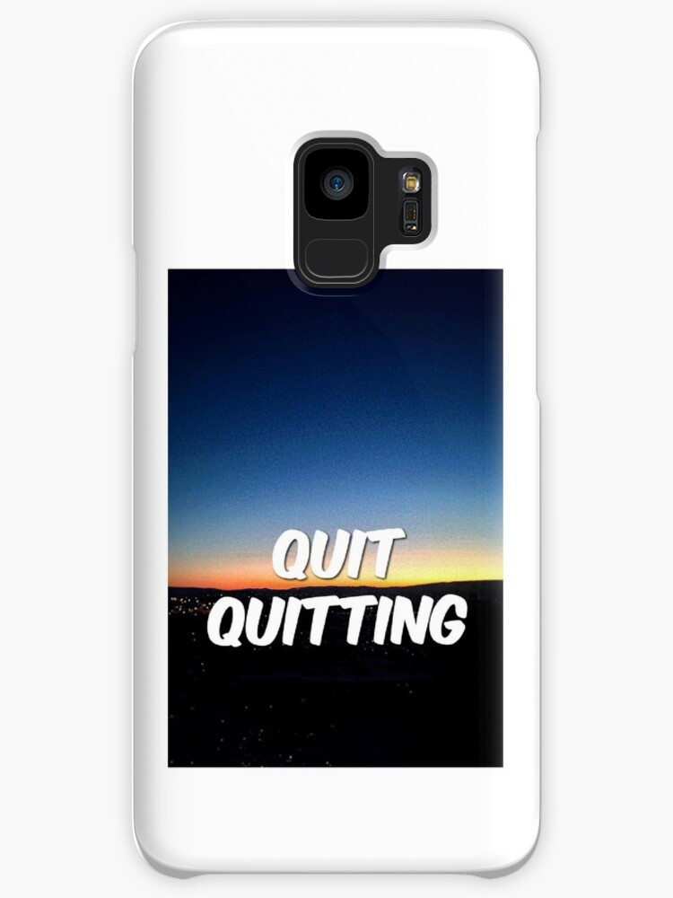 QUIT QUITTING by Nameera H