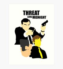 The Office - Threat Level Midnight Art Print