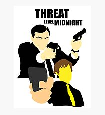 The Office - Threat Level Midnight Photographic Print