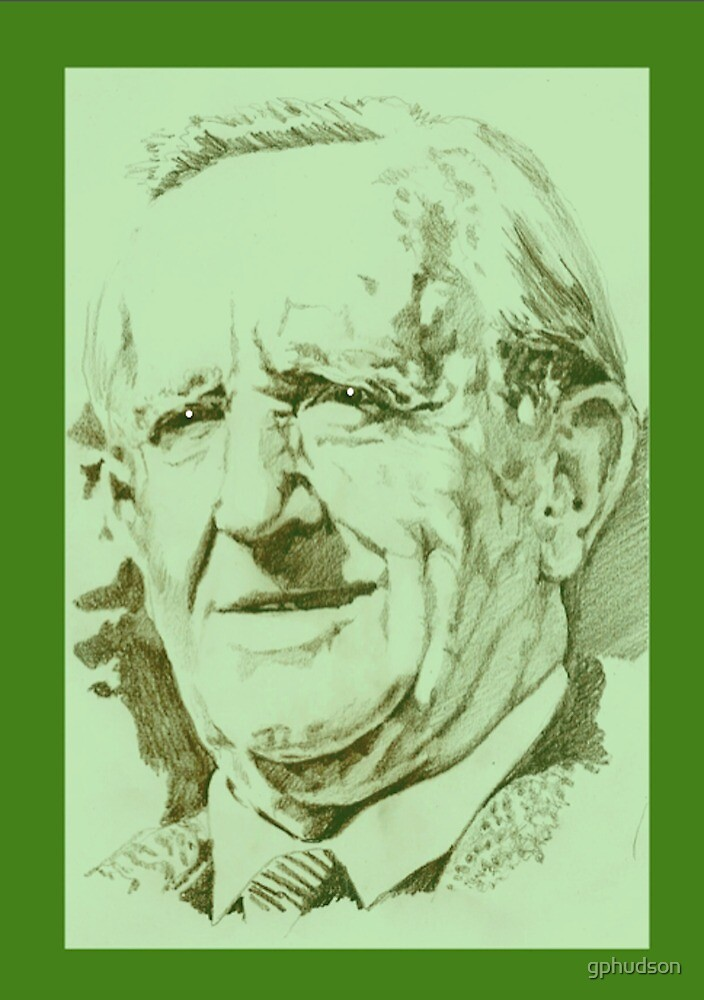 Tolkien (green) by gphudson