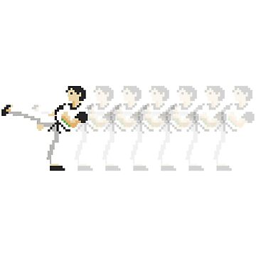 8-bit Kung Fu by Letsgiveafuck