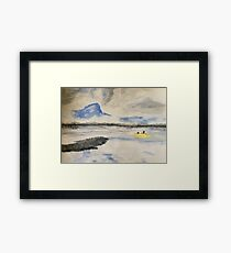 Looking Across the Water Framed Print