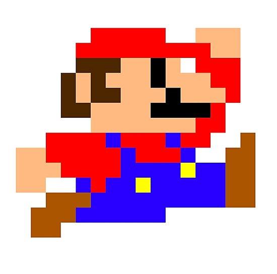 """Résultat de recherche d'images pour """"mario pixel"""""""