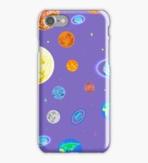 Pattern  planets of the solar system. iPhone Case/Skin