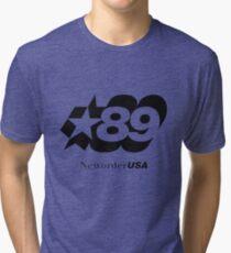 New Order (joy Division) 89 tour shirt Tri-blend T-Shirt