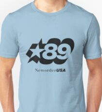 New Order (joy Division) 89 tour shirt Unisex T-Shirt