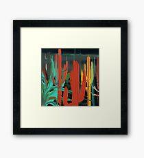 Cactus Dreams Framed Print