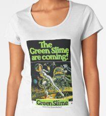 1968 movie poster the green slime Women's Premium T-Shirt