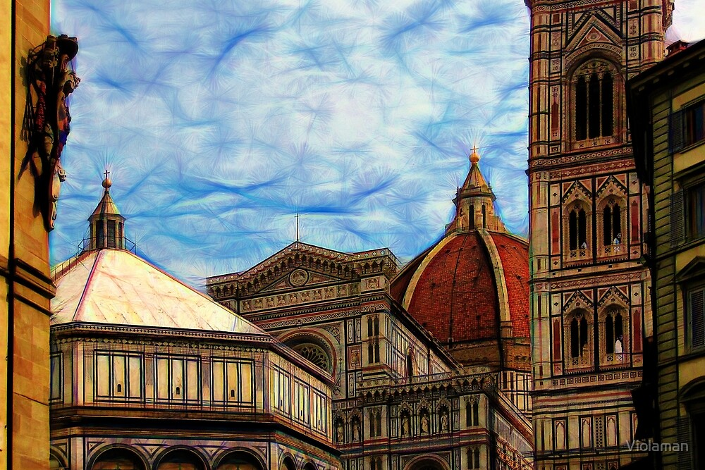 Artistic Florence by Violaman