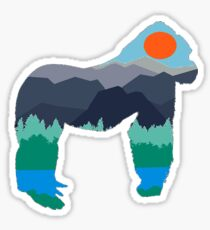 Gorilla Days Sticker