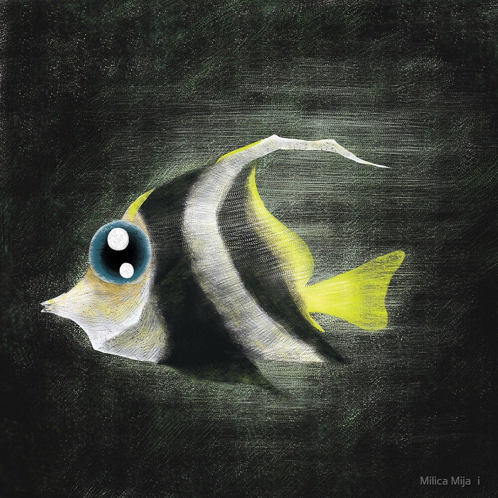 Angelfish by Milica Mijačić