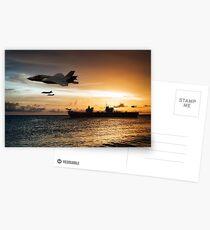 HMS Queen Elizabeth Postcards