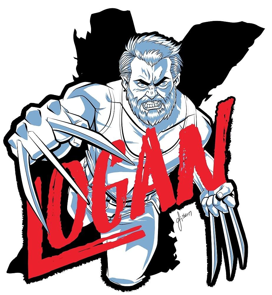 LOGAN clear by BCXart