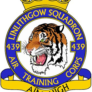 439 (Linlithgow) Squadron (White) by 439sqnapparel