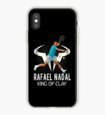 Rafael Nadal King of Clay iPhone Case