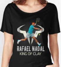 Rafael Nadal King of Clay Women's Relaxed Fit T-Shirt