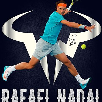 Rafael Nadal King of Clay by Shirtfashion