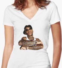 RIP Prodigy Women's Fitted V-Neck T-Shirt