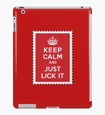 You've got it licked iPad Case/Skin