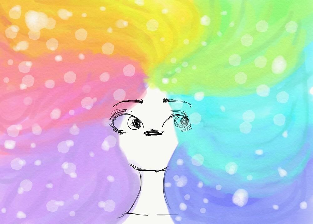 Snowy rainbow by Marshmallowz