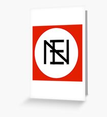New Era (New Eugenetics) Logo Greeting Card