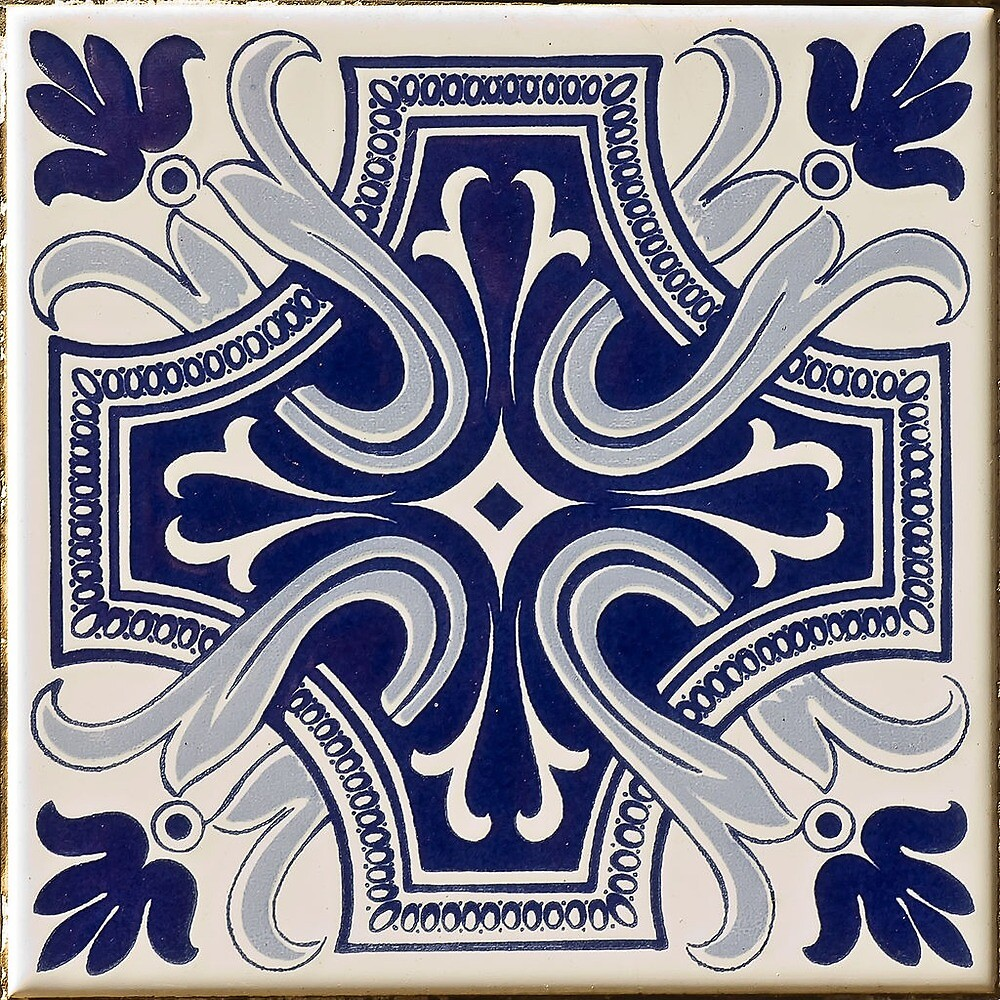 Portuguese Tiles Blue 2 by urbanizze