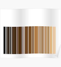 Barcode nude Poster