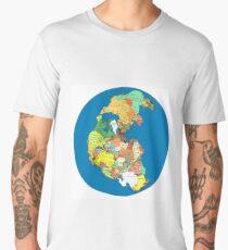 Pangea Political World Map Men's Premium T-Shirt